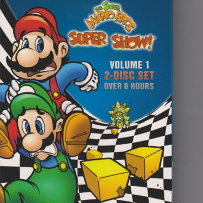 Super Mario Super Show volume 1 (DVD front).jpeg