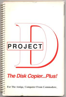 Project D: The Disk Copier...Plus! The Manual
