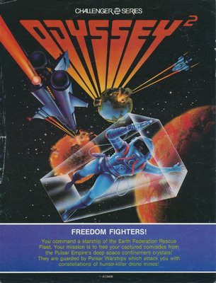 Odyssey2 Freedom Fighters! Sales Flyer