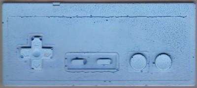 Cement NES Controller (Blue)
