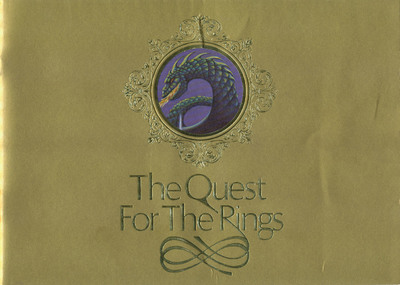The Quest for the Rings Golden Instruction Booklet (copy 2)
