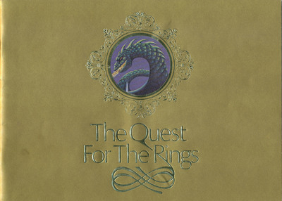 The Quest for the Rings Golden Instruction Booklet (copy 1)
