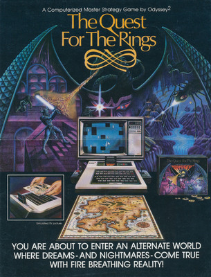 The Quest for the Rings Odyssey2 Brochure