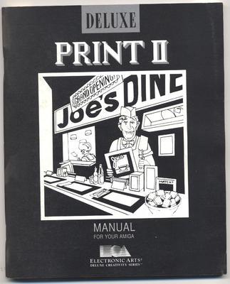 Deluxe Print II Manual