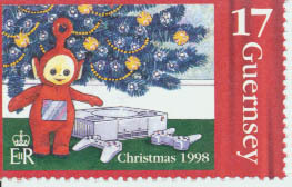 Guernsey Video Game Postage Stamp UM
