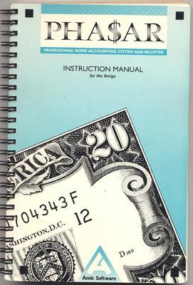 PHA$AR Instruction Manual