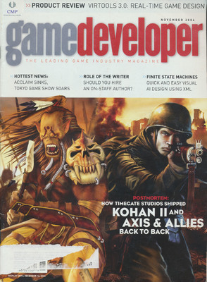 Game Developer 11.10