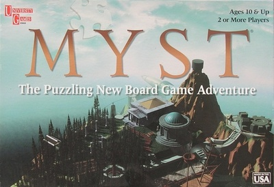 Myst: The Puzzling New Board Game Adventure