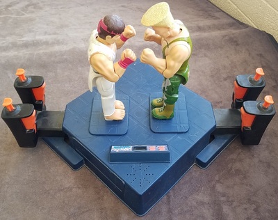 Street Fighter 2 Tiger Electronics Table Game
