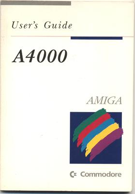User's Guide: A4000